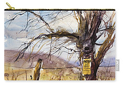 Posted Carry-all Pouch by Judith Levins