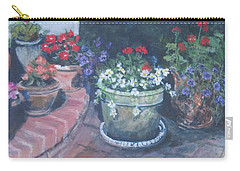 Potted Flowers Carry-all Pouch