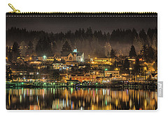 Poulsbo Waterfront 5 Carry-all Pouch by Wally Hampton