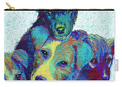 Pound Puppies Carry-all Pouch by Jane Schnetlage