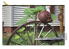 Carry-all Pouch featuring the photograph Pouring Out The Past by Benanne Stiens
