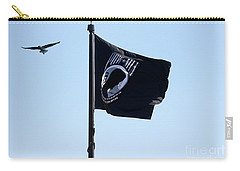 Pow Mia Carry-all Pouch by Joan Bertucci