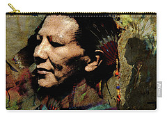 Pow Wow Dancer #1 Carry-all Pouch by Ed Hall