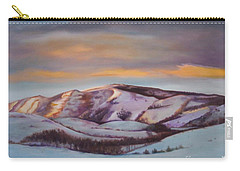 Powder Mountain Carry-all Pouch by Marlene Book