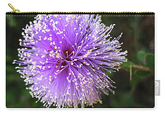 Purple Orb Carry-all Pouch by Mary Ellen Frazee