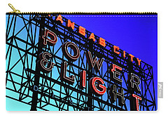 Power And Some Light Carry-all Pouch by Christopher McKenzie