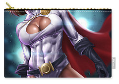 Power Girl Carry-all Pouch