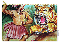 The Beast Of Beasts Carry-all Pouch by Ragunath Venkatraman