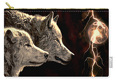 Power Of The Moon Carry-all Pouch by Pennie  McCracken