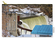Power Station Falls On Black River Two Carry-all Pouch