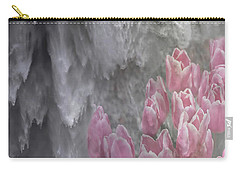 Powerful And Gentle Waterfall Art  Carry-all Pouch