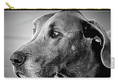 Carry-all Pouch featuring the photograph Powerful Majesty by Barbara Dudley