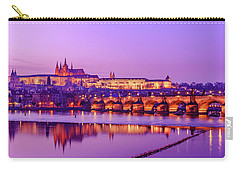 Carry-all Pouch featuring the photograph Prague Fairytale by Dmytro Korol