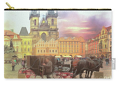 Prague Old Town Square Carry-all Pouch