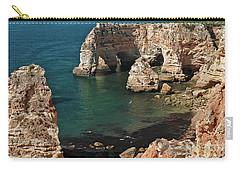 Praia Da Marinha Cliffs And Sea Carry-all Pouch