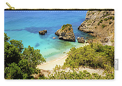 Praia Da Ribeira Do Cavalo In Sesimbra, Portugal Carry-all Pouch
