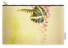 Prairie Butterfly 3 Carry-all Pouch