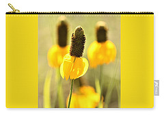 Prairie Coneflower In Morning Light Carry-all Pouch