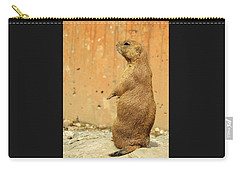 Prairie Dog Profile Carry-all Pouch by Robin Regan