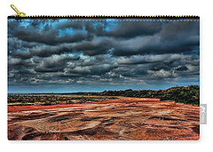 Prairie Dog Town Fork Red River Carry-all Pouch by Diana Mary Sharpton