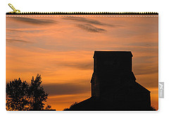 Prairie Dusk Carry-all Pouch by Tony Beck