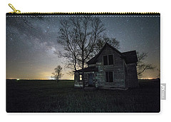 Prairie Gold And Milky Way Carry-all Pouch by Aaron J Groen