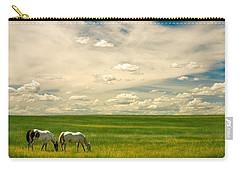 Prairie Horses Carry-all Pouch