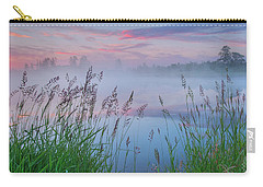 Carry-all Pouch featuring the photograph Prairie Pond Before Sunrise by Dan Jurak