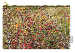 Prairie Rosehips Carry-all Pouch