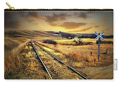 Prairie Tracks Carry-all Pouch