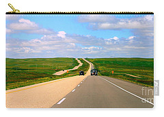 Carry-all Pouch featuring the photograph Prairies by Elfriede Fulda