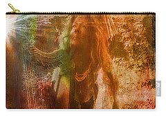 Carry-all Pouch featuring the photograph Praise Him With The Harp II by Anastasia Savage Ealy