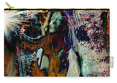 Carry-all Pouch featuring the photograph Praise Him With The Harp IIi by Anastasia Savage Ealy