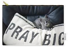 Pray Big Carry-all Pouch by Linda Mishler