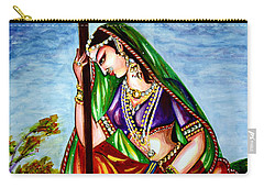 Krishna - Prayer Carry-all Pouch by Harsh Malik