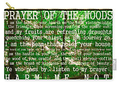 Prayer Of The Woods 2.0 Carry-all Pouch