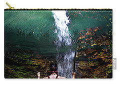 Carry-all Pouch featuring the photograph Praying To The Spirits by Al Bourassa