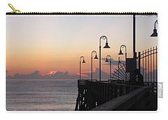 Pre-sunrise On Daytona Beach Pier   Carry-all Pouch