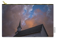 Carry-all Pouch featuring the photograph Preacher by Aaron J Groen