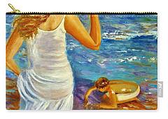 Precious Memories  Carry-all Pouch by Cristina Mihailescu