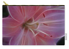 Precious Pink Lily Carry-all Pouch