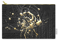 Precious Splashes - Set Of 4 Carry-all Pouch by Serge Averbukh