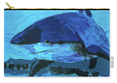 Carry-all Pouch featuring the painting Predator by Donald J Ryker III
