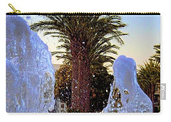Carry-all Pouch featuring the photograph Pregnant Water Fairy by Mariola Bitner