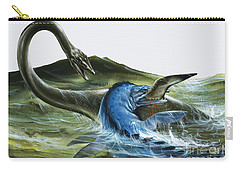 Prehistoric Creatures Carry-all Pouch by David Nockels