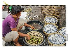 Preparing Pindang Tongkol Carry-all Pouch by Werner Padarin