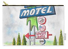 Prescott Valley Motel In Prescott, Arizona Carry-all Pouch