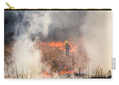 Prescribed Burn 2 - Uw Arboretum - Madison - Wisconsin Carry-all Pouch