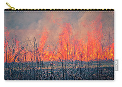 Prescribed Burn 3 - Uw Arboretum - Madison - Wisconsin Carry-all Pouch
