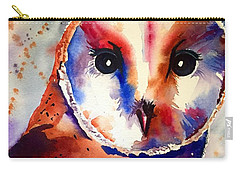 Carry-all Pouch featuring the painting Present Moment  by Michal Madison